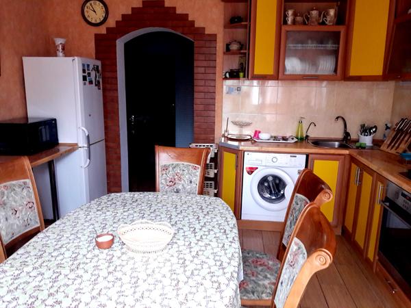 Апартаменты кухня частный дом отдыха У Натали  Крым Любимовка Севастополь