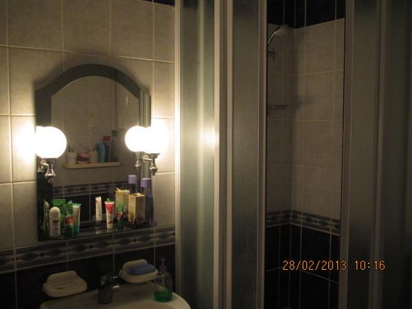 Трёх комнатная квартира в Любимовка гарнизон. Ванная комната
