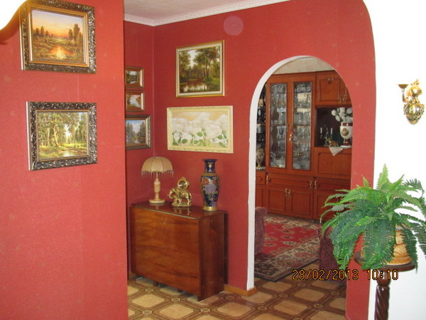 Трёх комнатная квартира в Севастополе Любимовка гарнизон